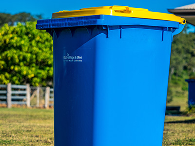 garden waste bins mackay
